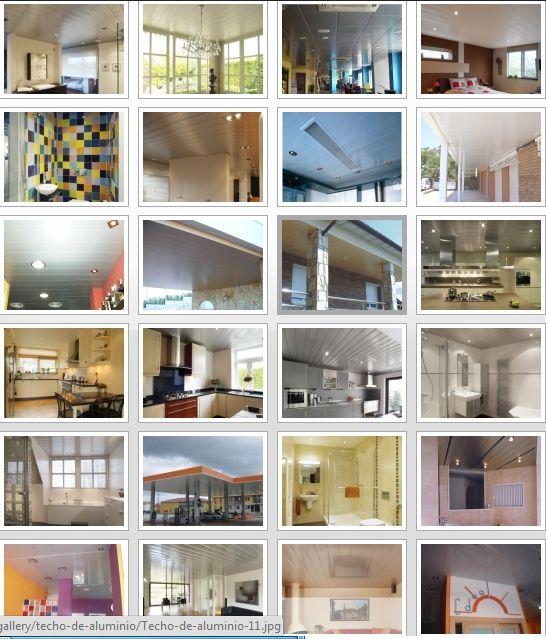 Presupuesto instaladores de techos de aluminio