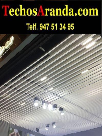 Profesionales venta techos de aluminio
