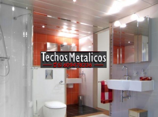 Trabajo de techos baños