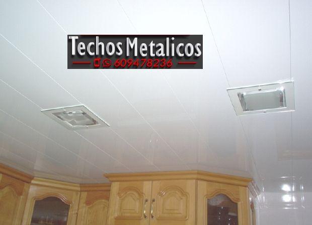 Trabajo instaladores de techos de aluminio lacados