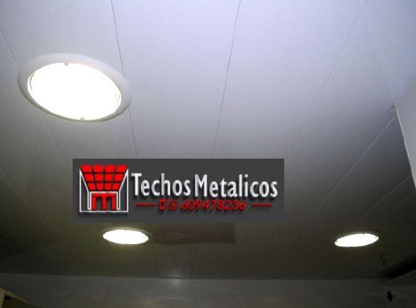 Trabajo venta techos de aluminio
