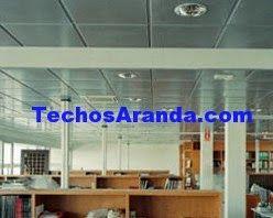 Trabajos económicos instaladores de techos de aluminio