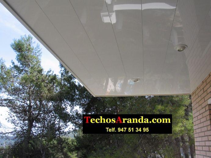 Trabajos económicos ofertas techo aluminio lacado