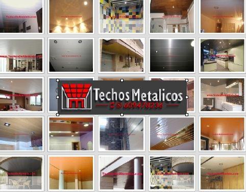 Trabajos empresa techos aluminio