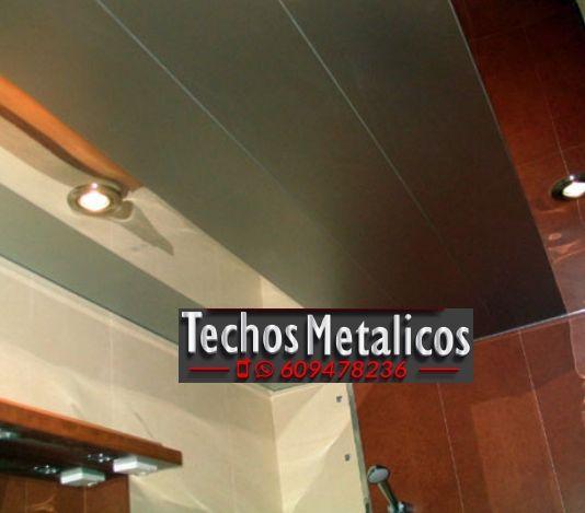Trabajos garantizados montadores techos de aluminio lacados