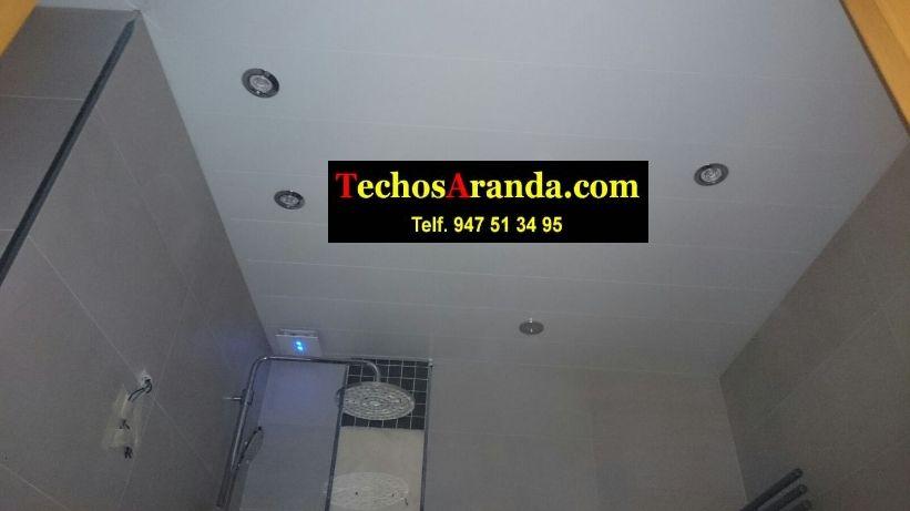 Trabajos garantizados techos de aluminio para baños
