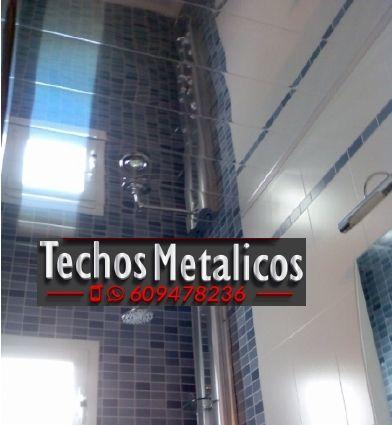 Trabajos profesionales empresa techo aluminio lacado