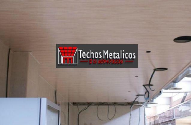 Trabajos profesionales empresa techos aluminio