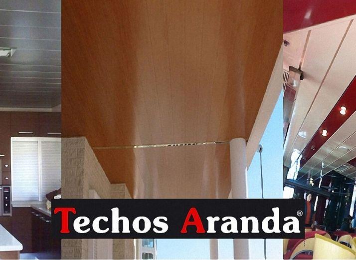 Trabajos profesionales instaladores de techos de aluminio lacados
