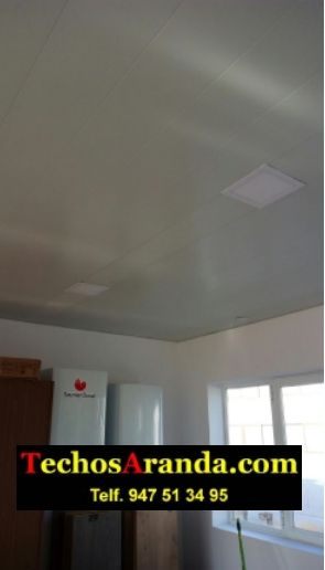 Trabajos profesionales montadores techo de aluminio lacado