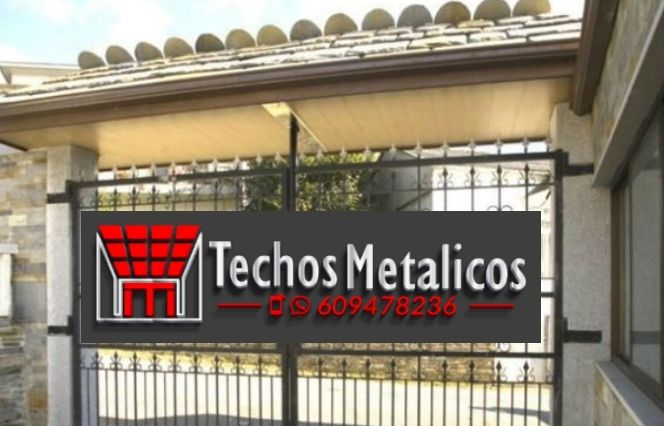 Trabajos profesionales techos metálicos