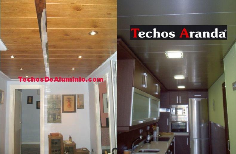 El mejor precio económico falsos techos aluminio desmontables decorativos