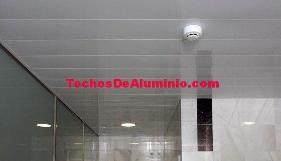 El mejor precio techos de aluminio acústicos decorativos