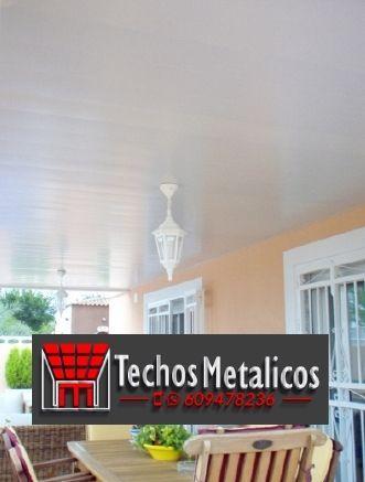 El mejor presupuesto de montadores techos de aluminio lacados