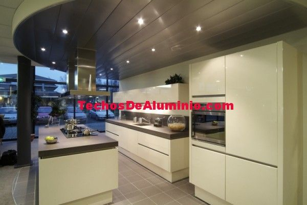 El mejor presupuesto de techos de aluminio acústicos para cocinas