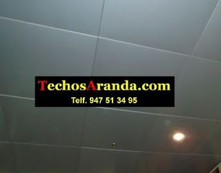 Empresa de instaladores de techos de aluminio acústicos