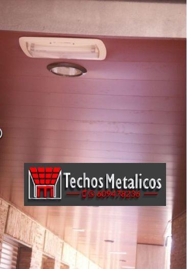 Empresa de montadores techos de aluminio lacados