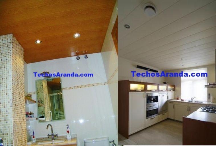 Empresa de montajes techos aluminio desmontables decorativos