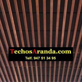 Empresa de ofertas techos aluminio acústicos