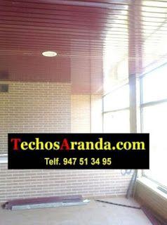 Empresa de venta techos de aluminio acústicos