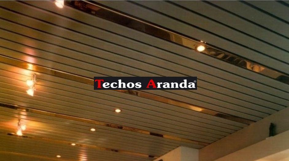 Empresa falsos techos aluminio registrables decorativos