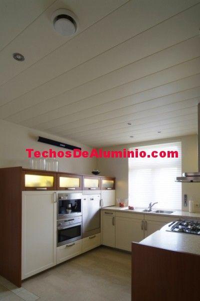 Empresa local de techos de aluminio acústicos para cocinas
