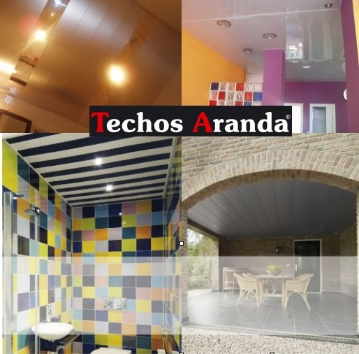 Empresa local instaladores de techos de aluminio registrables decorativos