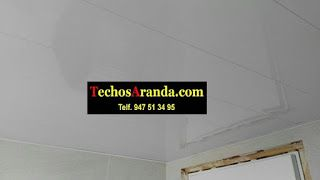 Empresa local techos de aluminio acústicos decorativos para baños