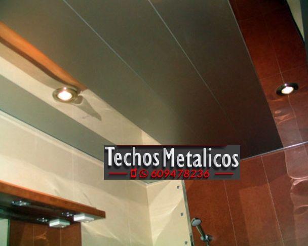Empresa local techos de aluminio desmontables decorativos para baños