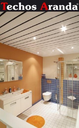 Empresa local techos de aluminio registrables decorativos para baños