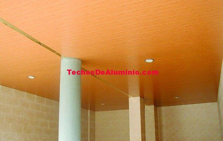 Empresa montadores techos de aluminio registrables decorativos