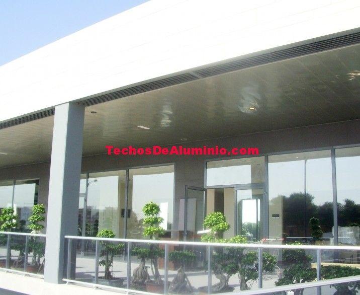 Empresa montaje techos aluminio acústicos decorativos