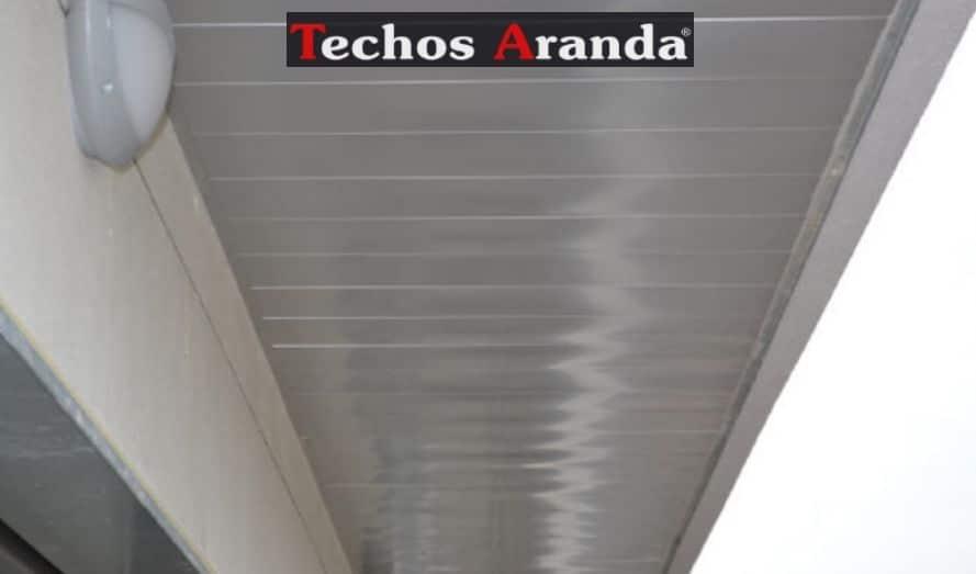 Empresa montaje techos aluminio desmontables decorativos