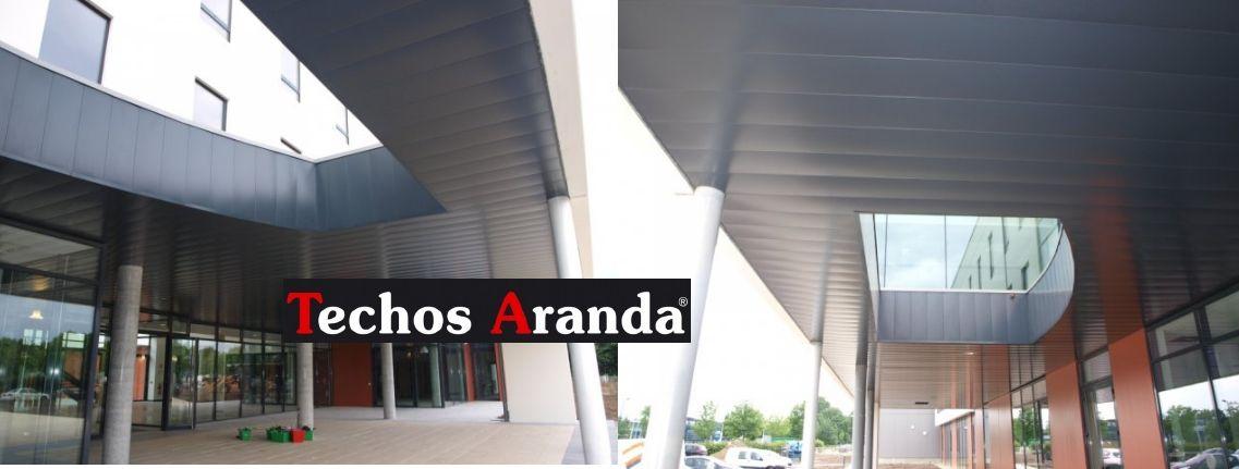 Empresa montaje techos aluminio registrables decorativos