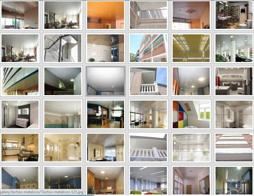Empresa montajes techos de aluminio acústicos decorativos