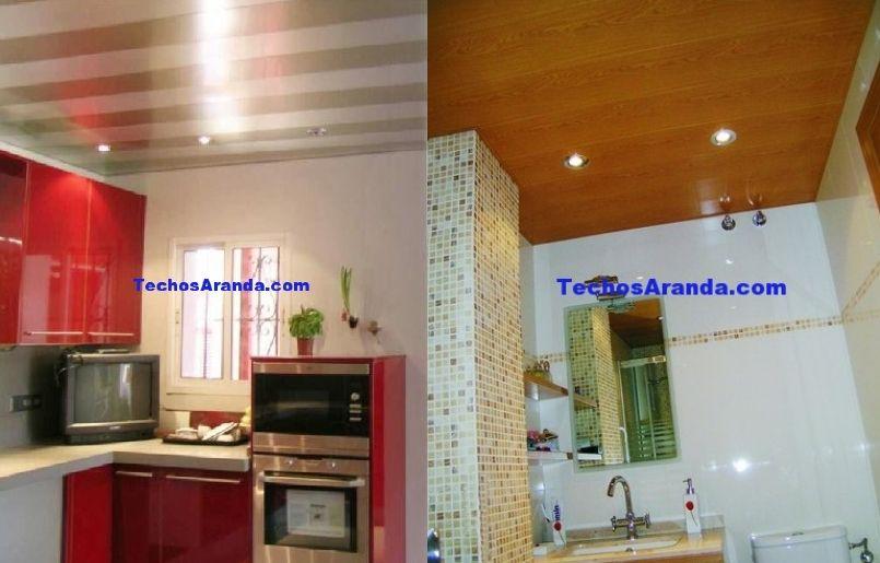 Empresa techo aluminio desmontable decorativo