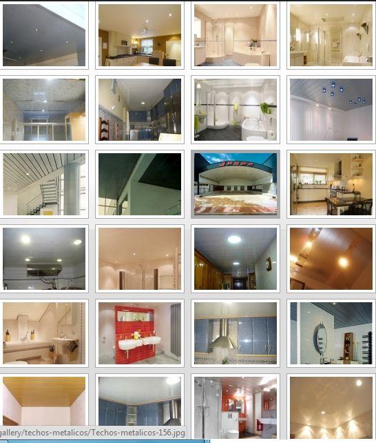 Empresa techos de aluminio acústicos decorativos para cocinas