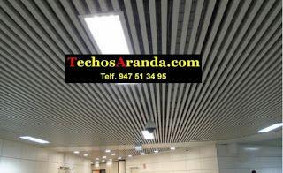 Empresa venta techos de aluminio acústicos decorativos