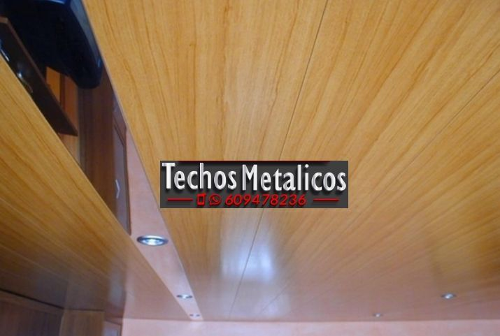 Empresas falsos techos aluminio decorativos