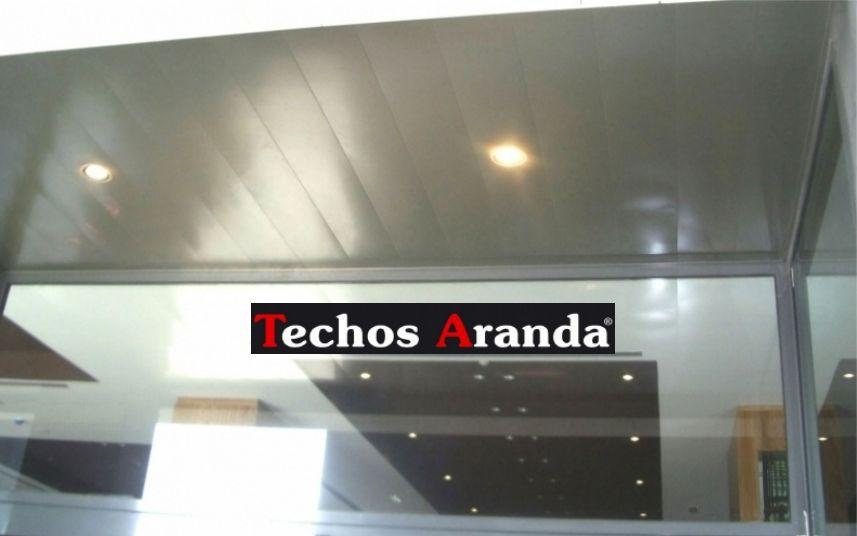 Empresas locales ofertas techos aluminio registrables decorativos