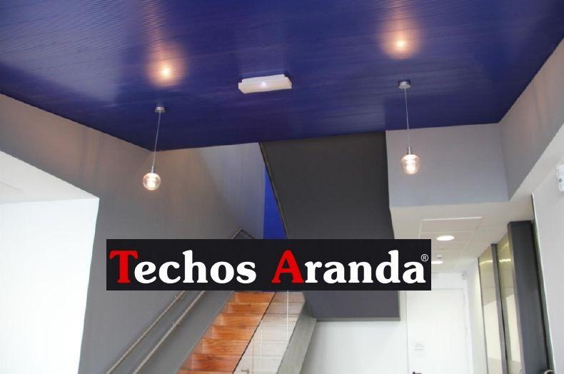 Empresas montadores techos de aluminio registrables decorativos