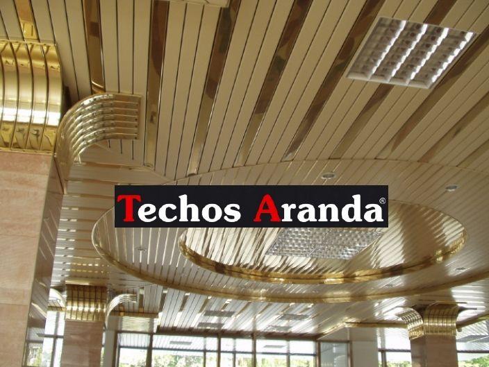 Empresas montaje techos aluminio registrables decorativos