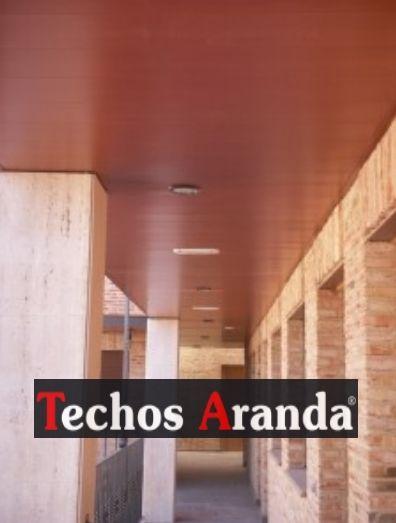 Empresas ofertas techos aluminio registrables decorativos