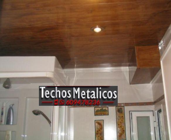 Empresas techos de aluminio decorativos para baños