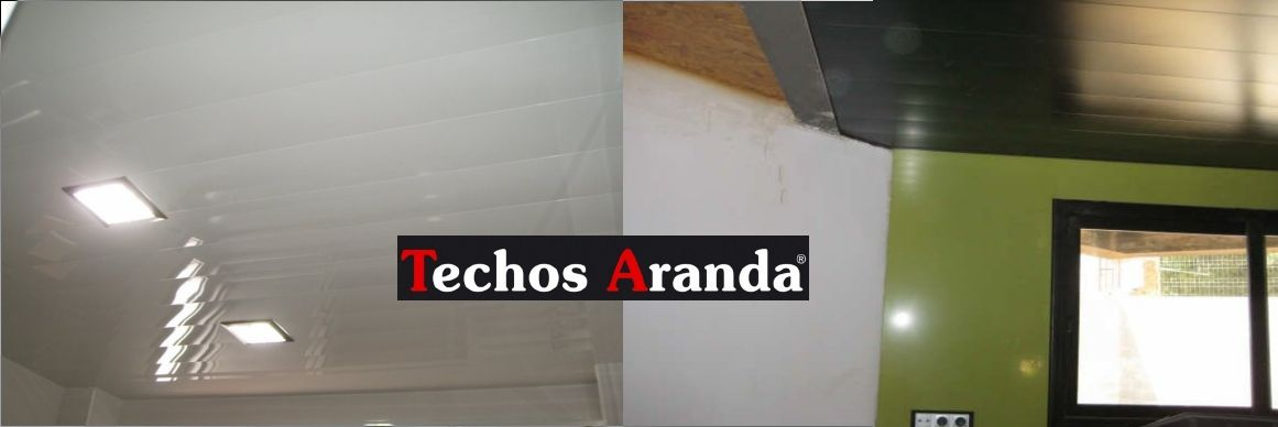 Empresas venta techos de aluminio registrables decorativos