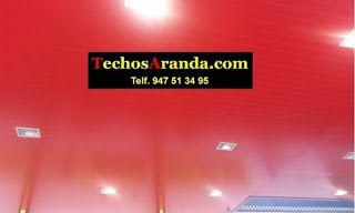 Especialista empresa techos aluminio acústicos decorativos