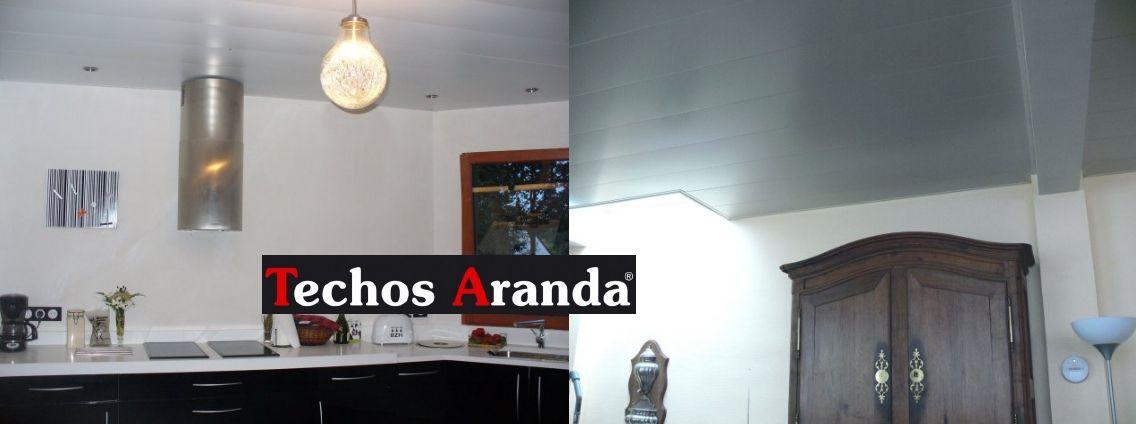 Especialista empresa techos aluminio registrables decorativos