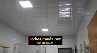 Especialista falsos techos aluminio acústicos decorativos