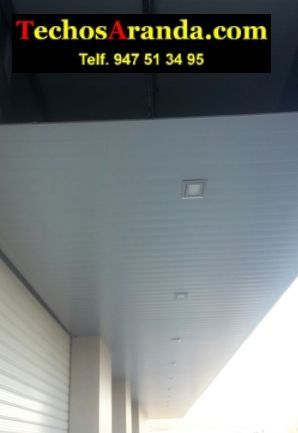 Especialista montadores techos de aluminio lacados