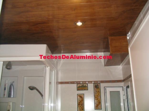 Especialista techos de aluminio acústicos decorativos parara baños